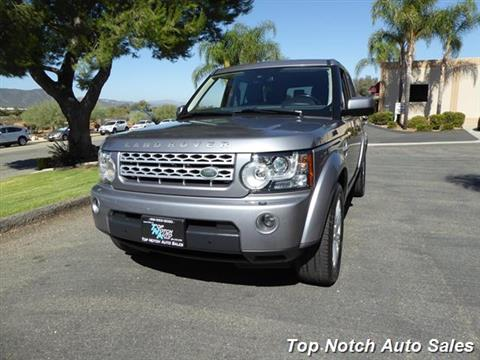 2012 Land Rover LR4 for sale in Temecula, CA