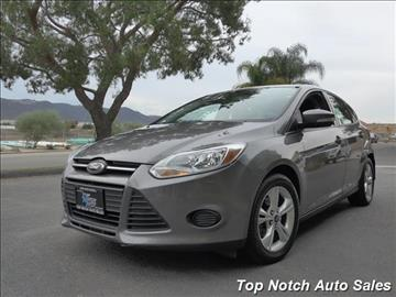 2013 Ford Focus for sale in Temecula, CA