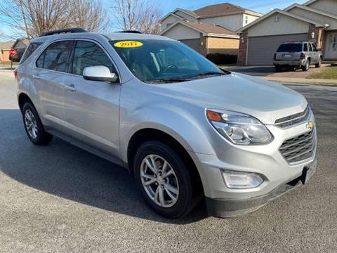 2017 Chevrolet Equinox for sale at Posen Motors in Posen IL