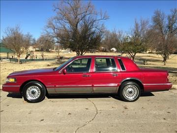 1995 Lincoln Town Car for sale in Tulsa, OK