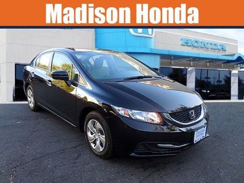 2015 Honda Civic for sale in Madison, NJ