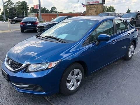 2014 Honda Civic for sale in Woodstock, GA