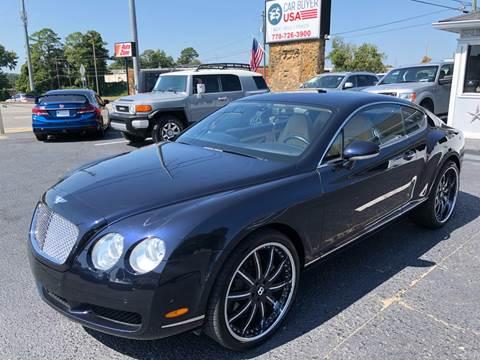 2007 Bentley Continental for sale in Woodstock, GA
