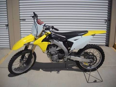 2012 Suzuki RM-Z 450 for sale in Bullhead City AZ
