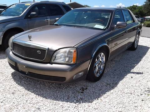 2003 Cadillac DeVille for sale in Ruskin, FL