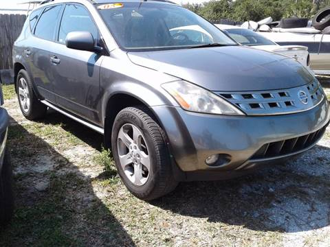 2005 Nissan Murano for sale in Ruskin, FL