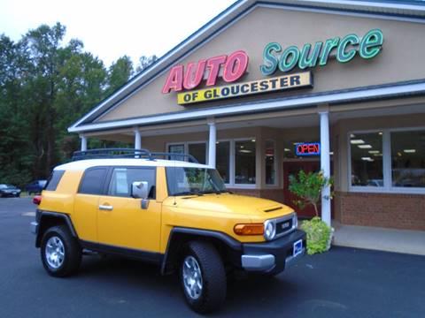 2008 Toyota FJ Cruiser for sale in Gloucester, VA