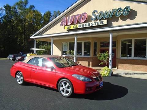 2007 Toyota Camry Solara for sale in Gloucester, VA