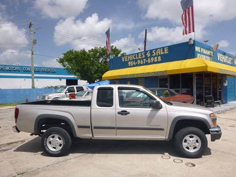 2005 Chevrolet Colorado for sale in Hollywood, FL