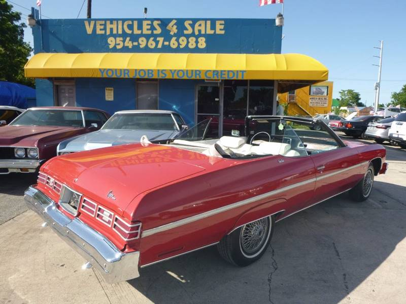 1975 Chevrolet Caprice CLASSIC CONVERTIBLE In Hollywood FL ...