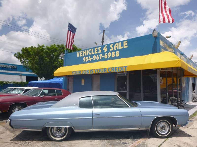 1973 Chevrolet Caprice CUSTOM COUPE In Hollywood FL - VEHICLES 4 SALE