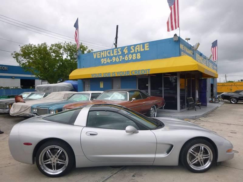 1997 Chevrolet Corvette 2dr Hatchback In Hollywood FL - VEHICLES 4 SALE