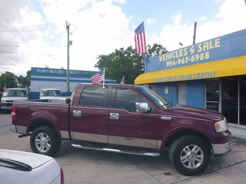 2004 Ford F-150 for sale in Hollywood, FL