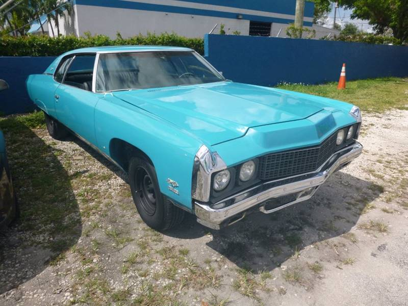 1973 Chevrolet Impala for sale at Car Mart Leasing & Sales in Hollywood FL
