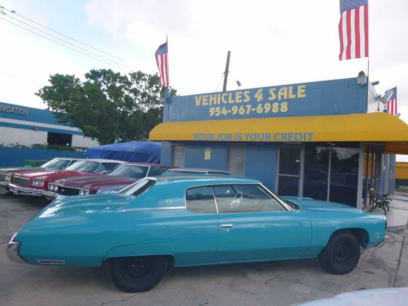 1973 Chevrolet Impala In Hollywood FL - VEHICLES 4 SALE