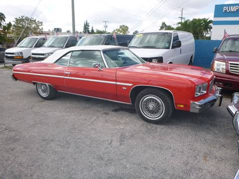 detailed pictures 10364 e2b84 1975 Chevrolet Caprice for sale in Hollywood, FL