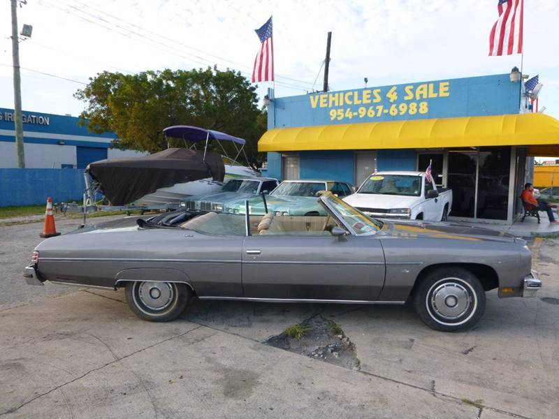1975 Chevrolet Caprice CONVERTIBLE CLASSIC In Hollywood FL ...