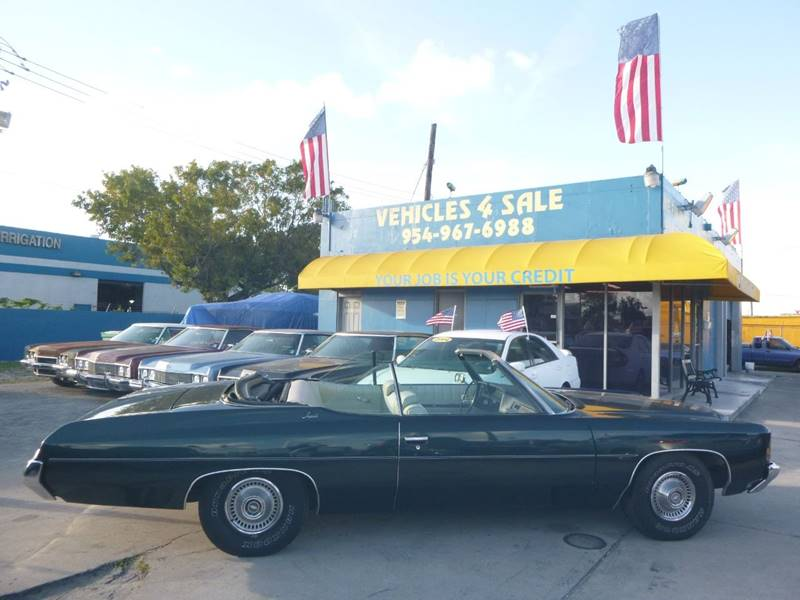 1972 Chevrolet Impala CONVERTIBLE CLASSIC In Hollywood FL - VEHICLES ...