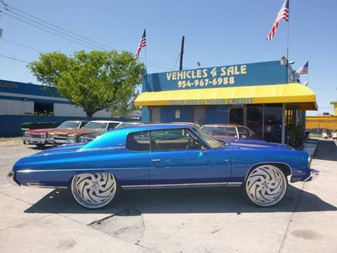 1973 Chevrolet Caprice for sale in Hollywood, FL
