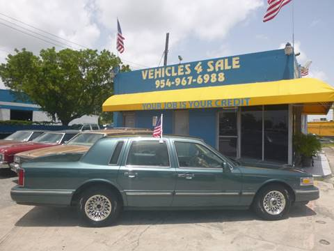 1995 Lincoln Town Car For Sale In Virgin Islands Carsforsale Com