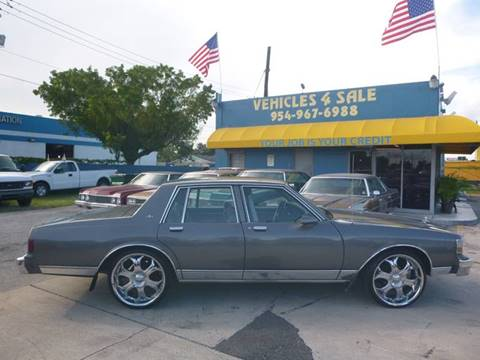 Chevrolet caprice for sale carsforsale 1990 chevrolet caprice for sale in hollywood fl publicscrutiny Images