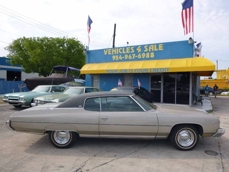 1973 Chevrolet Caprice Caprice Classic In Hollywood FL - VEHICLES 4 SALE