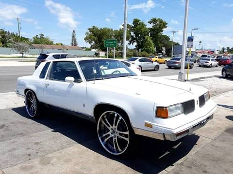 1987 Oldsmobile Cutlass Supreme for sale in Hollywood, FL