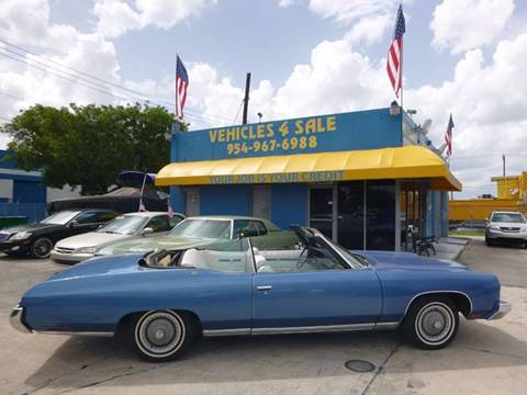 Used 1973 Chevrolet Caprice For Sale Carsforsalecom