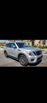 2019 Nissan Armada SV for sale at Car Mart Leasing & Sales in Hollywood FL