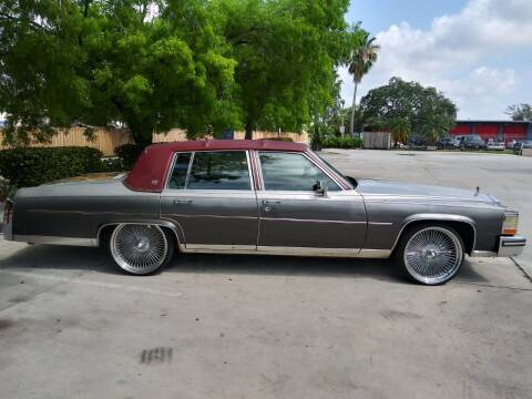 1989 Cadillac Brougham for sale at Car Mart Leasing & Sales in Hollywood FL