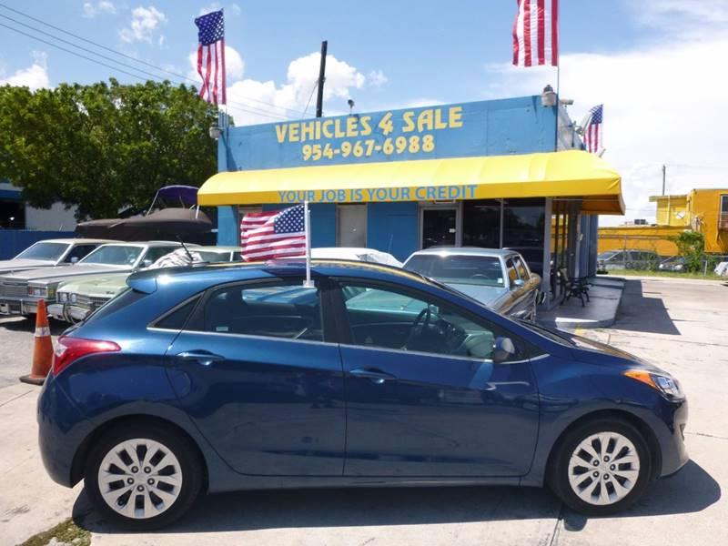 2016 Hyundai Elantra Gt 4dr Hatchback 6A In Hollywood FL ...