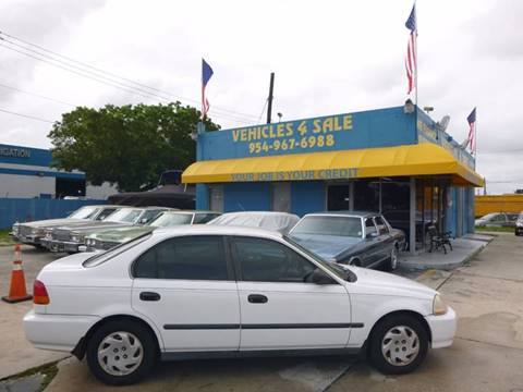 1997 Honda Civic for sale in Hollywood, FL