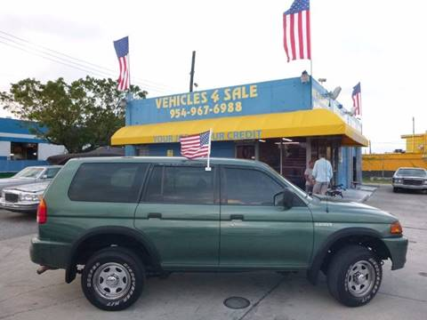 1998 Mitsubishi Montero Sport for sale in Hollywood, FL