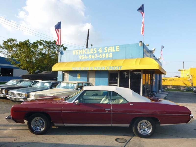 1973 Chevrolet Caprice CAPRICE CONVERTIBLE CLASSIC In Hollywood FL ...