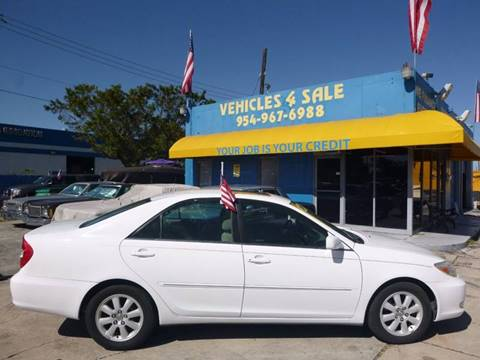 2004 Toyota Camry for sale in Hollywood, FL