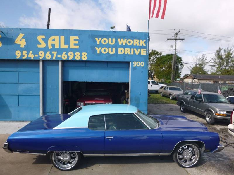 1973 Chevrolet Caprice CAPRICE CUSTOM COUPE In Hollywood FL ...
