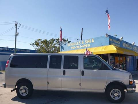 2008 Chevrolet Express Passenger for sale in Hollywood, FL