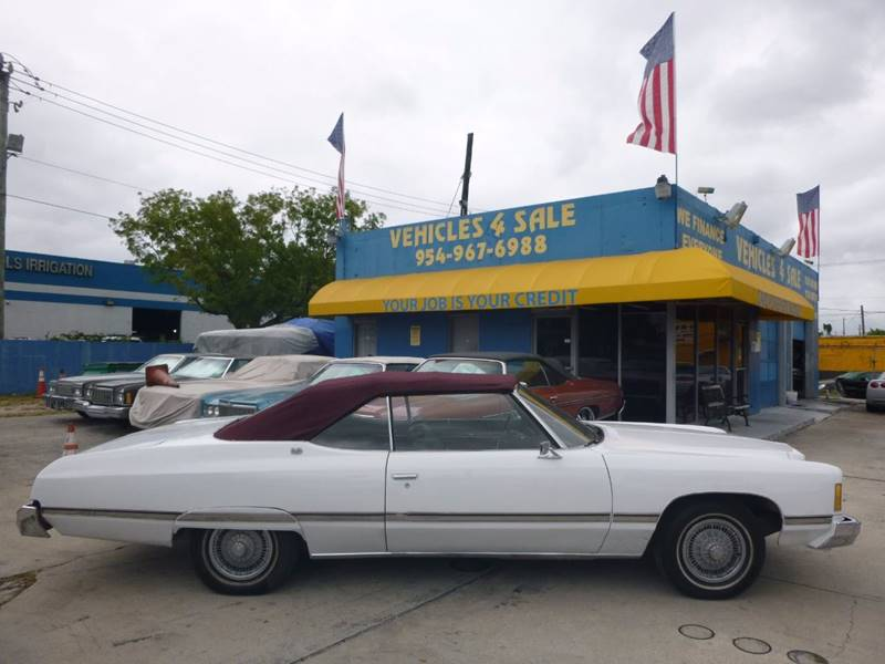 1974 Chevrolet Caprice CLASSIC CONVERTIBLE In Hollywood FL ...
