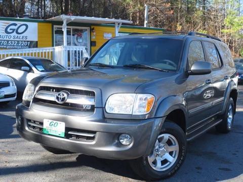 2006 Toyota Sequoia for sale in Gainesville, GA