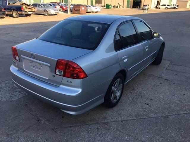 2004 Honda Civic EX 4dr Sedan - Dallas TX