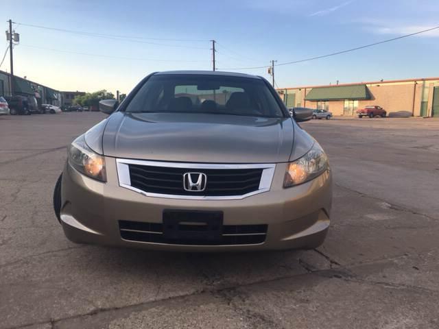 2008 Honda Accord EX 4dr Sedan 5A - Dallas TX