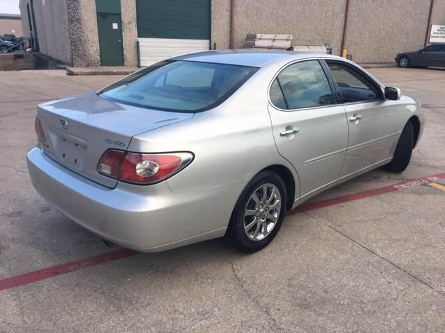 2003 Lexus ES 300 4dr Sedan - Dallas TX