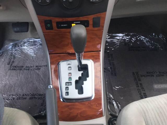 2009 Toyota Corolla XLE 4dr Sedan 4A - Dallas TX