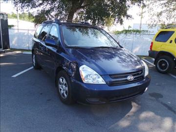 2008 Kia Sedona for sale in Jacksonville, FL
