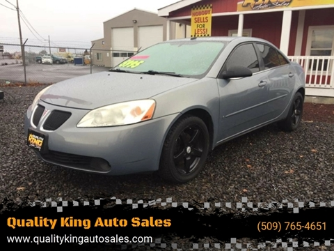 2008 Pontiac G6 for sale in Moses Lake, WA