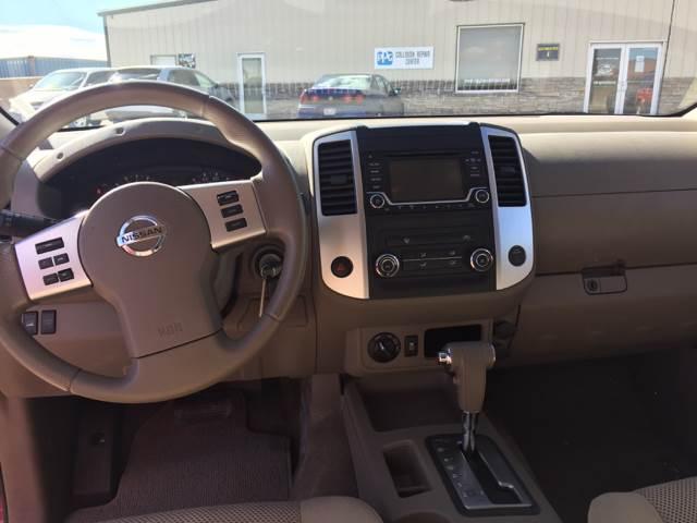 2015 Nissan Frontier 4x4 SV 4dr Crew Cab 5 ft. SB Pickup 5A - Kanab UT