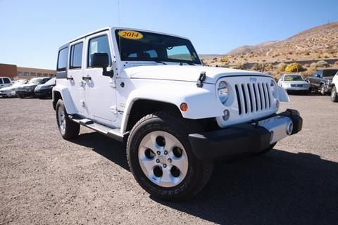 2014 Jeep Wrangler Unlimited for sale in Carson City, NV