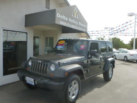 2010 Jeep Wrangler Unlimited for sale in Stockton, CA