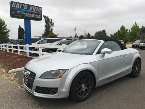 2008 Audi TT for sale in Woodburn, OR