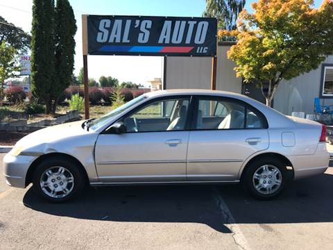 2002 Honda Civic for sale in Woodburn, OR
